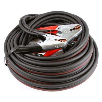 12 ft. 4-Gauge Twin Cable Heavy Duty Battery Jumper Cables