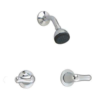 Colony Soft 2-Handle 1-Spray Shower Faucet in Polished Chrome (Valve Included)