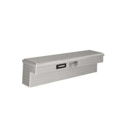 48 in. Aluminum Side Mount Truck Tool Box, Metallic