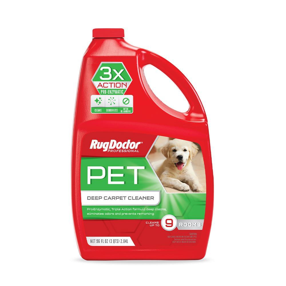 Rug Doctor 96 Oz Pet Deep Carpet Cleaner 05046 The Home Depot