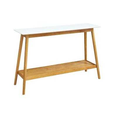 Oslo White Console Table