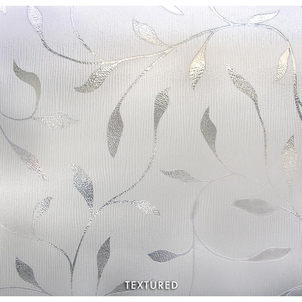 Artscape 36 In W X 72 In H Etched Leaf Decorative Window Film 02
