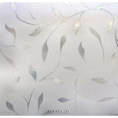 36 in. W x 72 in. H Etched Leaf Decorative Window Film