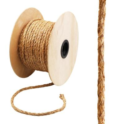 1/2 in. x 200 ft. Manila Twist Rope, Natural