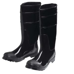 West Chester Black PVC Boot Size 15 by West Chester