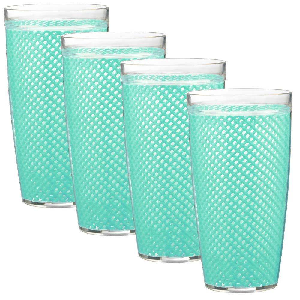 Fishnet 22 oz. Limpet Shell Insulated Drinkware (Set of 4)