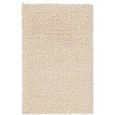 Shag Cream 2 ft. x 3 ft. Scatter Area Rug