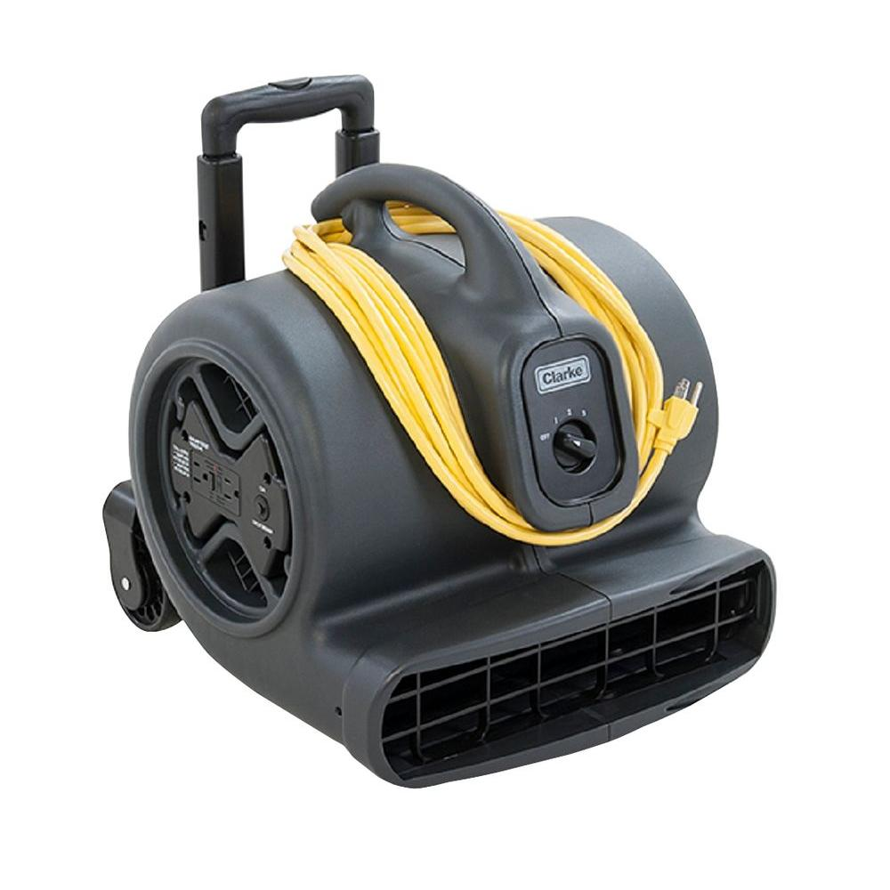Clarke DirectAir Pro 3 Speed Transportable Carpet Dryer and Air Mover Cleaning