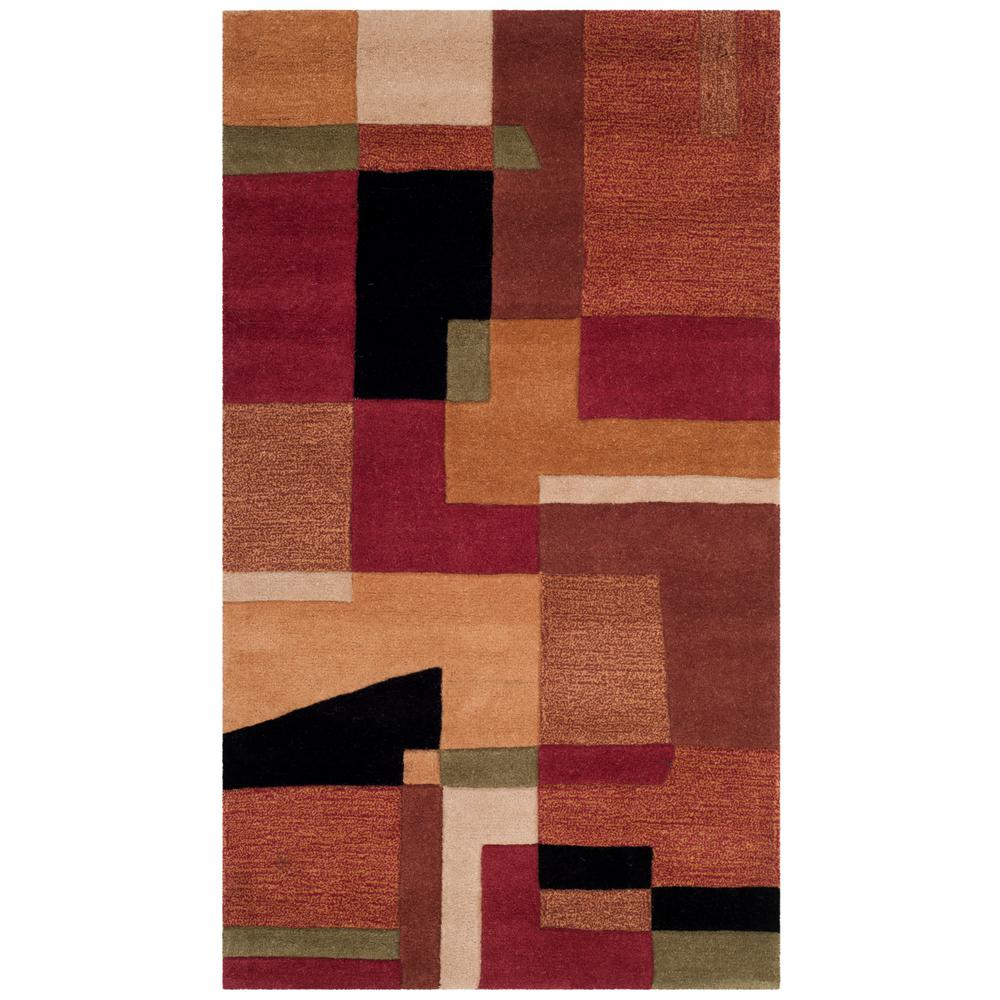 Rodeo Drive Multi 3 ft. 6 in. x 5 ft. 6
