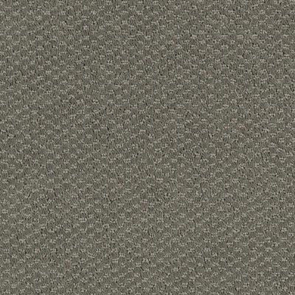 Carpet Sample - Katama II - Color Grey Flannel Pattern 8
