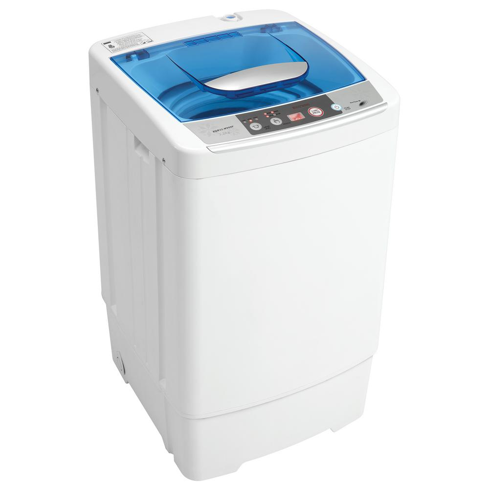 1.0 cu. ft. Portable Top Load Washer in White