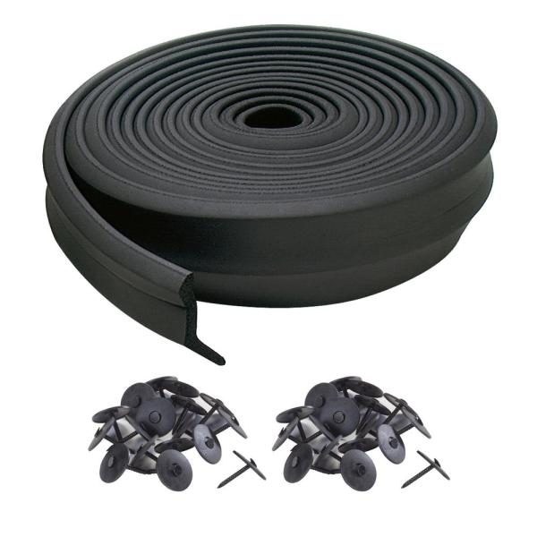 2 in. x 16 ft. Rubber Replacement for Garage Door Bottom