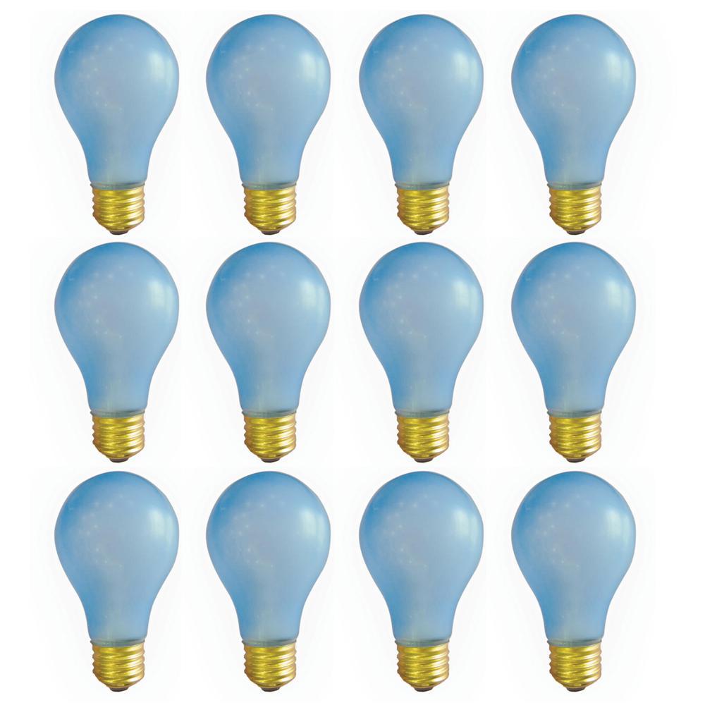 Bulbrite 60-Watt A19 Plant Growth Dimmable Incandescent Light Bulb (12-Pack)
