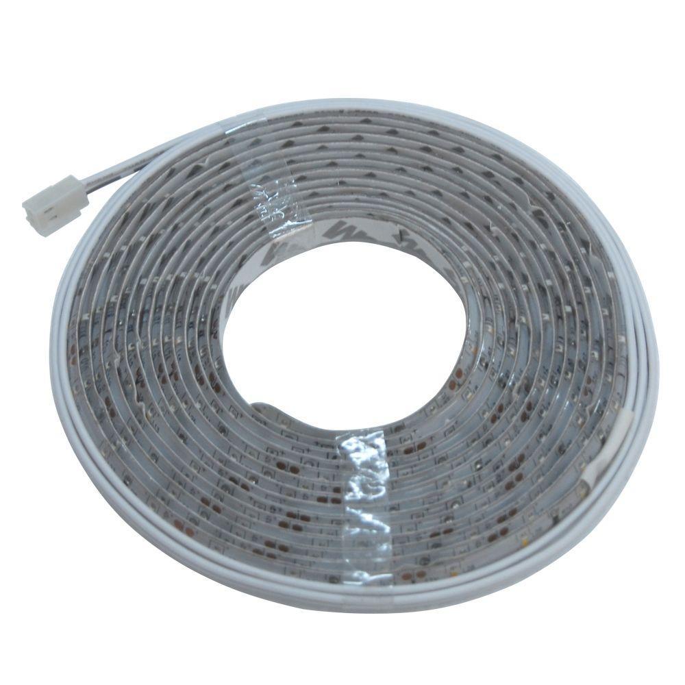 12 ft. Indoor LED Warm White Tape Light Roll