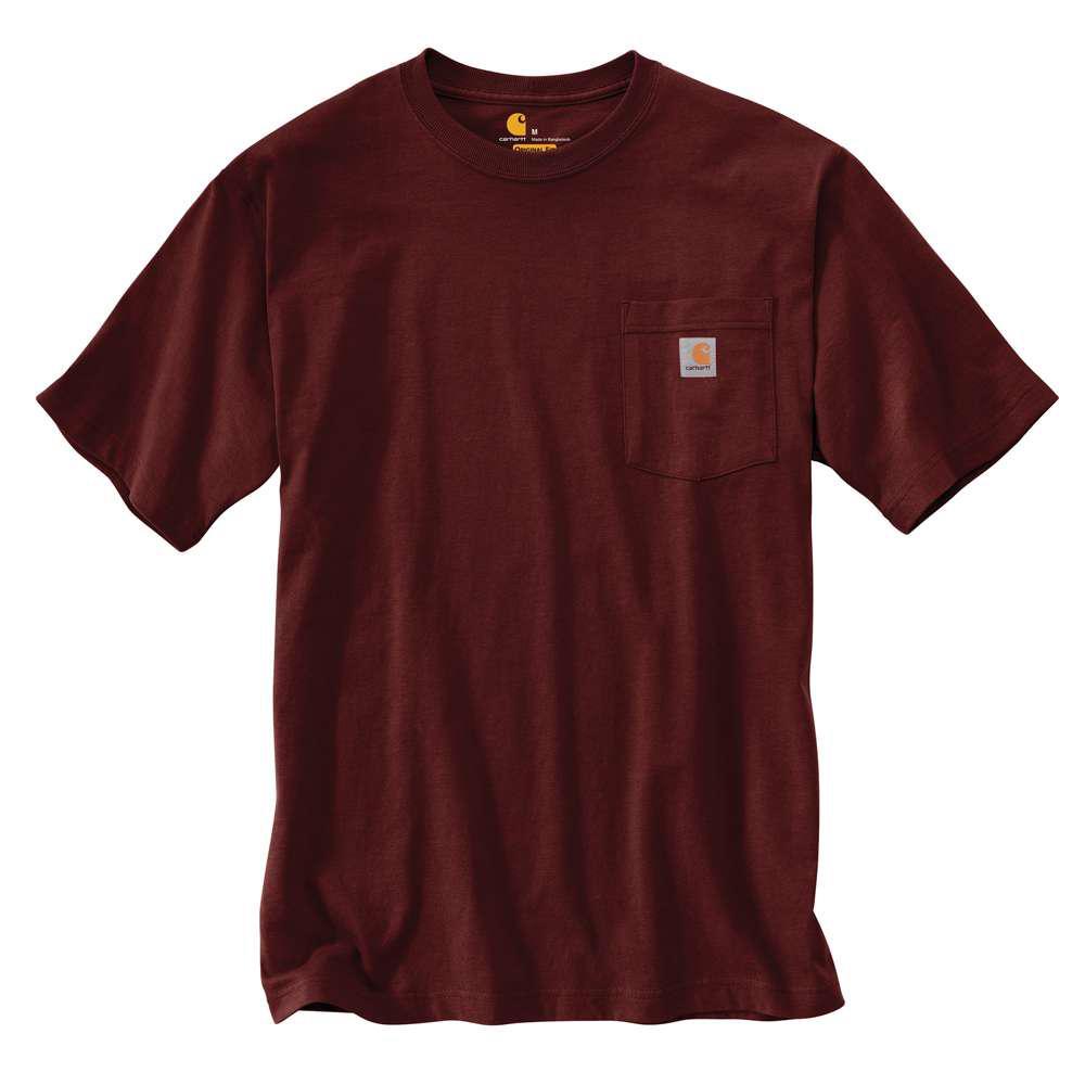 Carhartt Men's Regular Xxxx Large Port Cotton Short-Sleeve T-Shirt