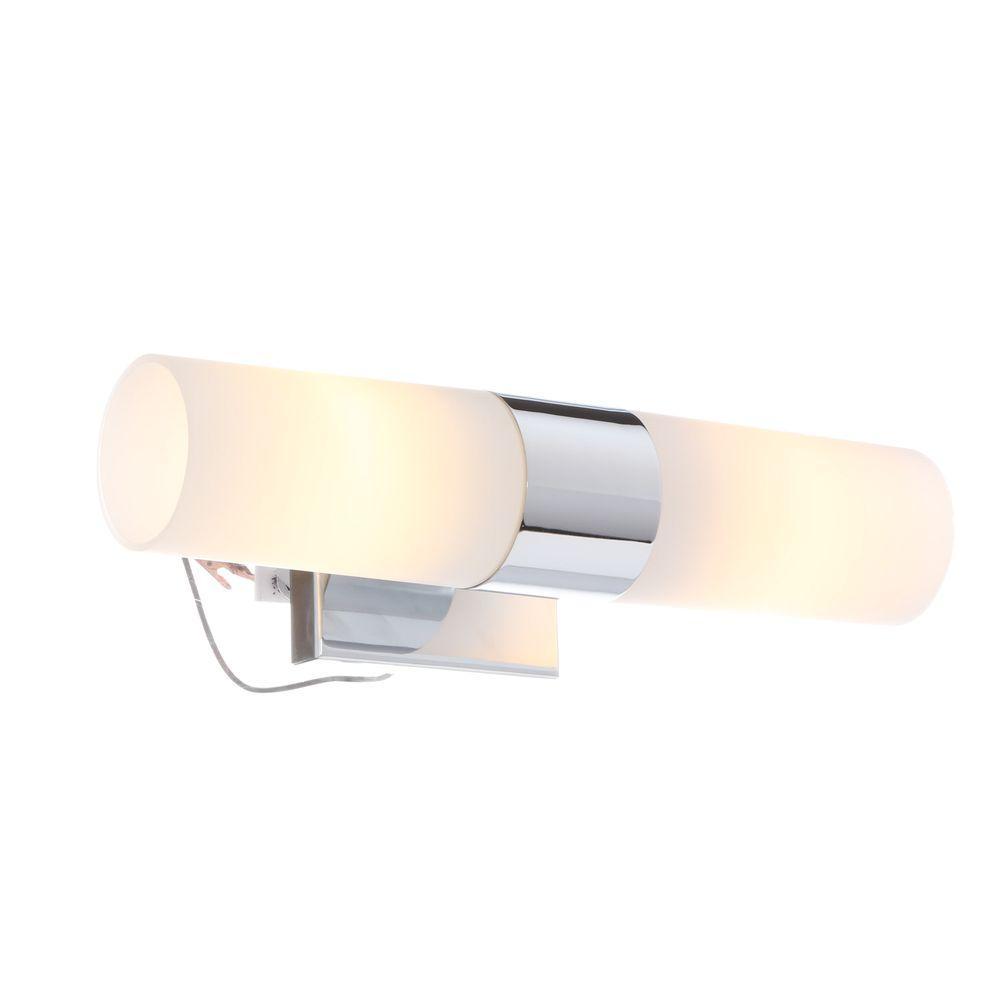 Minka Lavery 2-Light Chrome Sconce
