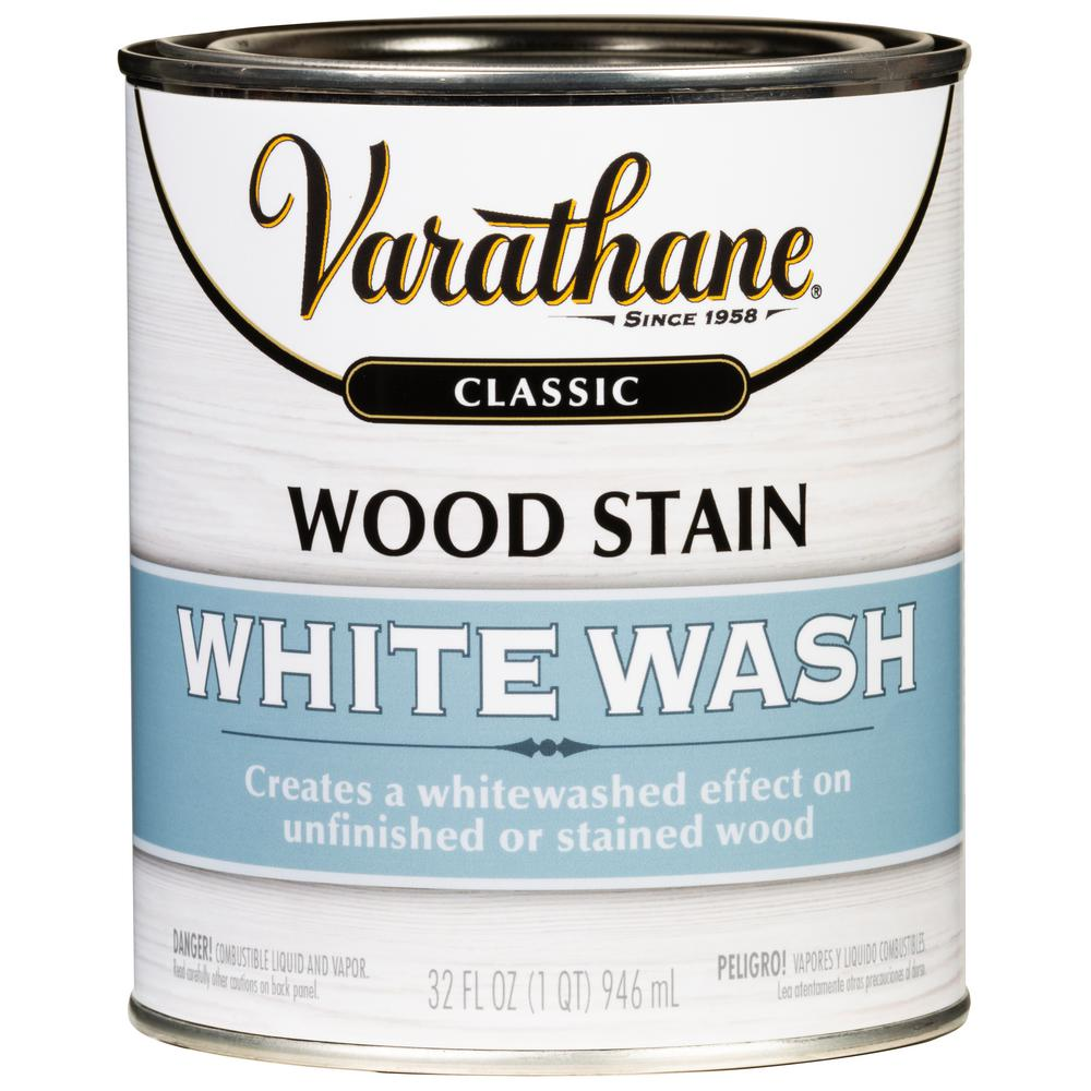 Home Interior Products: Varathane 1 Qt. White Wash InteriorWood Stain(2 Pack