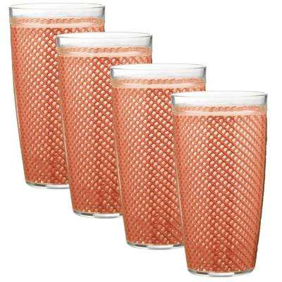Fishnet 22 oz. Brick Insulated Drinkware (Set of 4)