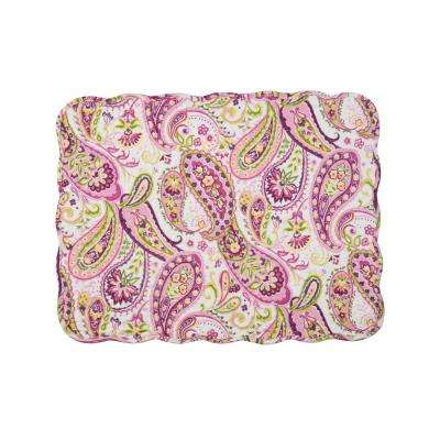Purple Ariana Quilted Placemat (Set of 6)