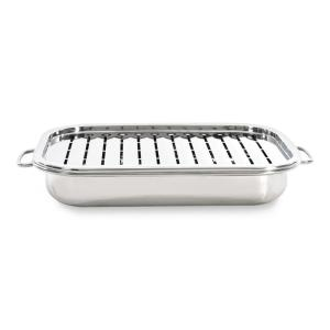 Click here to buy BergHOFF Studio Roasting Pan with Rack by BergHOFF.