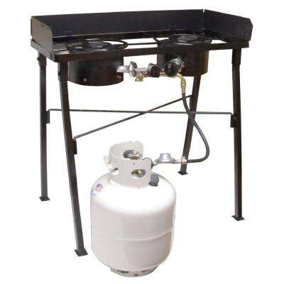 Low Pressure Double Burner Camp Stove