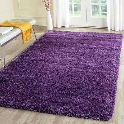 Milan Shag Purple 10 ft. x 14 ft. Area Rug