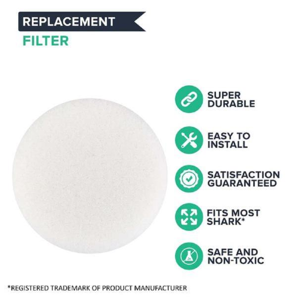 Think Crucial Foam Filter Replacement For Shark Sv1106 And Xf1100t Navigator Freestyle Cordless Part Sv1006 Sv1006 The Home Depot