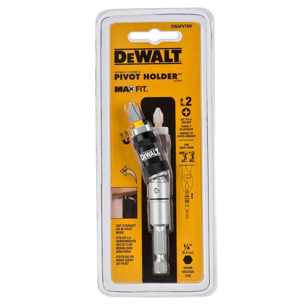 DEWALT 1/4 in. Hex MAXFIT Pivot Holder