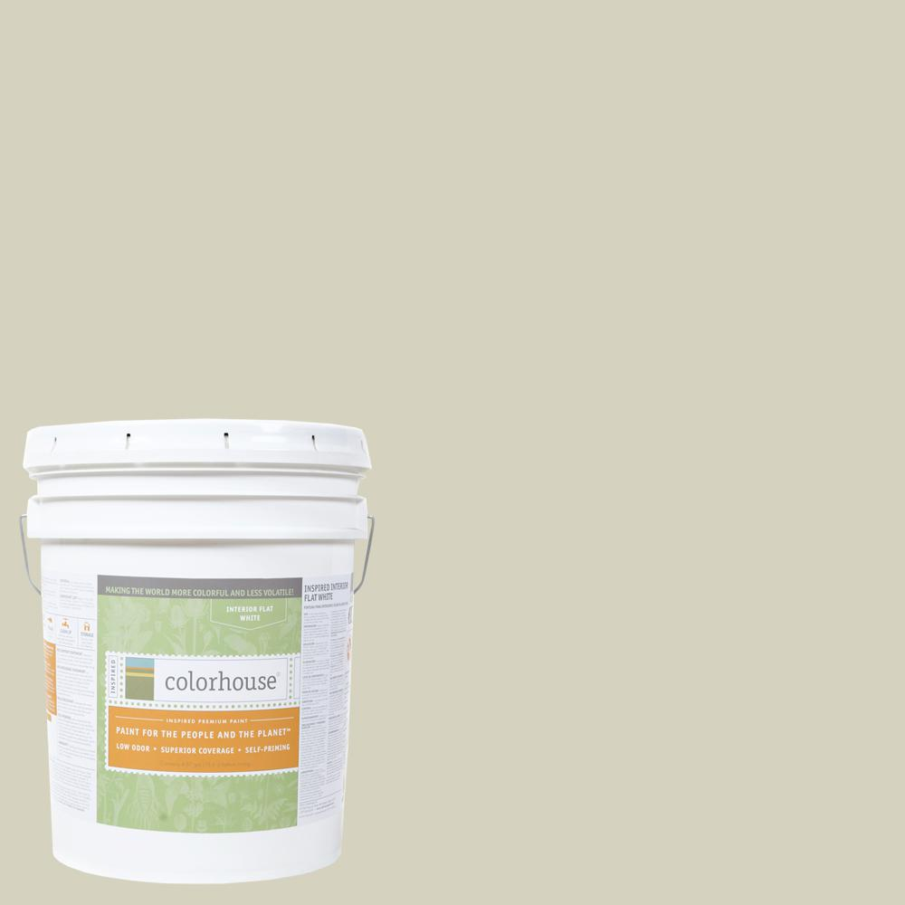 5 gal. Nourish .01 Flat Interior Paint