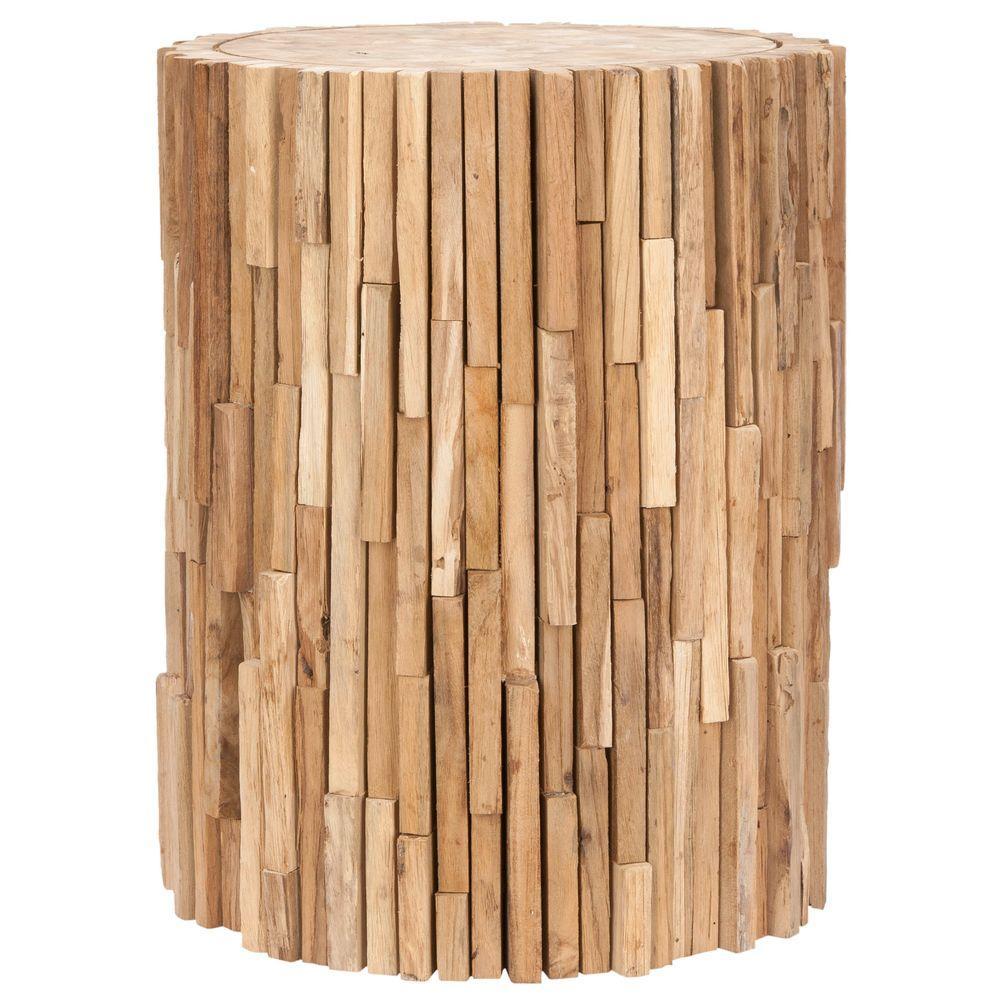 Safavieh Minidoka Medium Oak End Table