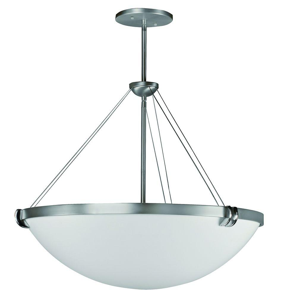 Radionic Hi Tech Biscayne 4-Light Chrome Hanging/Ceiling Fixture