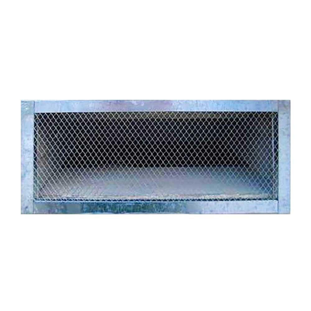 14 in. x 6 in. Galvanized Steel Reversible Foundation Vent