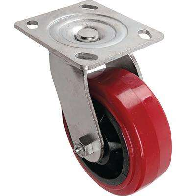 5 in. Polyurethane Swivel Caster with 750 lb. Load Rating
