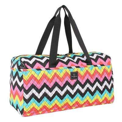 21 in. Soft Duffel in Chevron/Les Plages