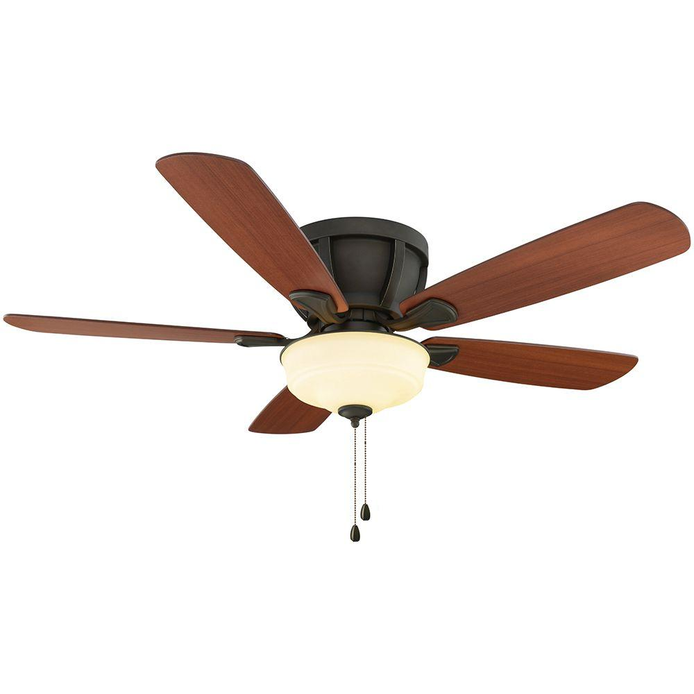 Costner 52 in. Indoor Oil-Rubbed Bronze Ceiling Fan with Light Kit
