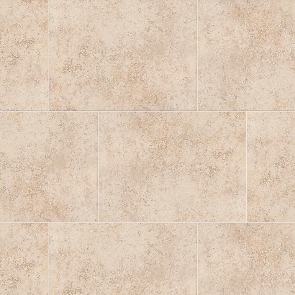 Daltile Glacier White In X In Ceramic Floor And Wall Tile - Daltile san leandro ca