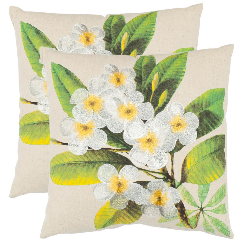 Gloria Embroidered Pillow (2-Pack)