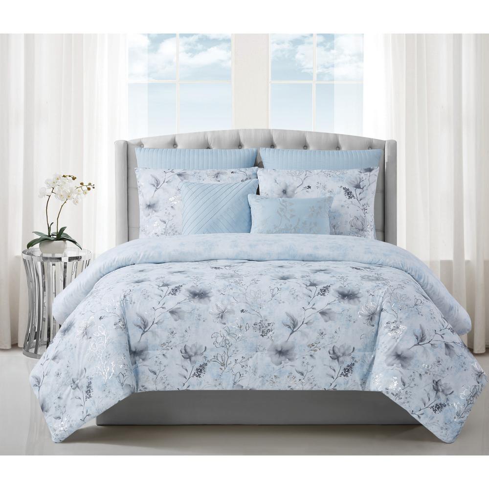 Ava 7 Piece Queen Comforter Set