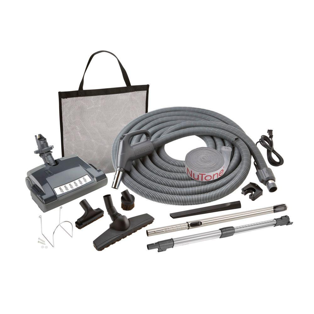 Central Vacuums The Home Depot Power Point Electrical Wiring Ducted Vacuuming Electric Pigtail Carpet And Bare Floor Attachment Set For Vacuum System