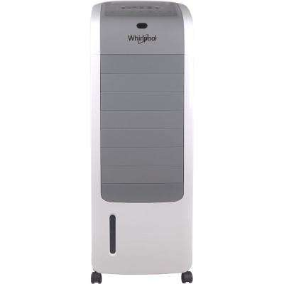 155 CFM 3 Speed Portable Evaporative Air Cooler in White for 309 sq. ft.