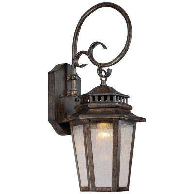 Wickford Bay 1-Light Iron Oxide Outdoor LED Wall Mount