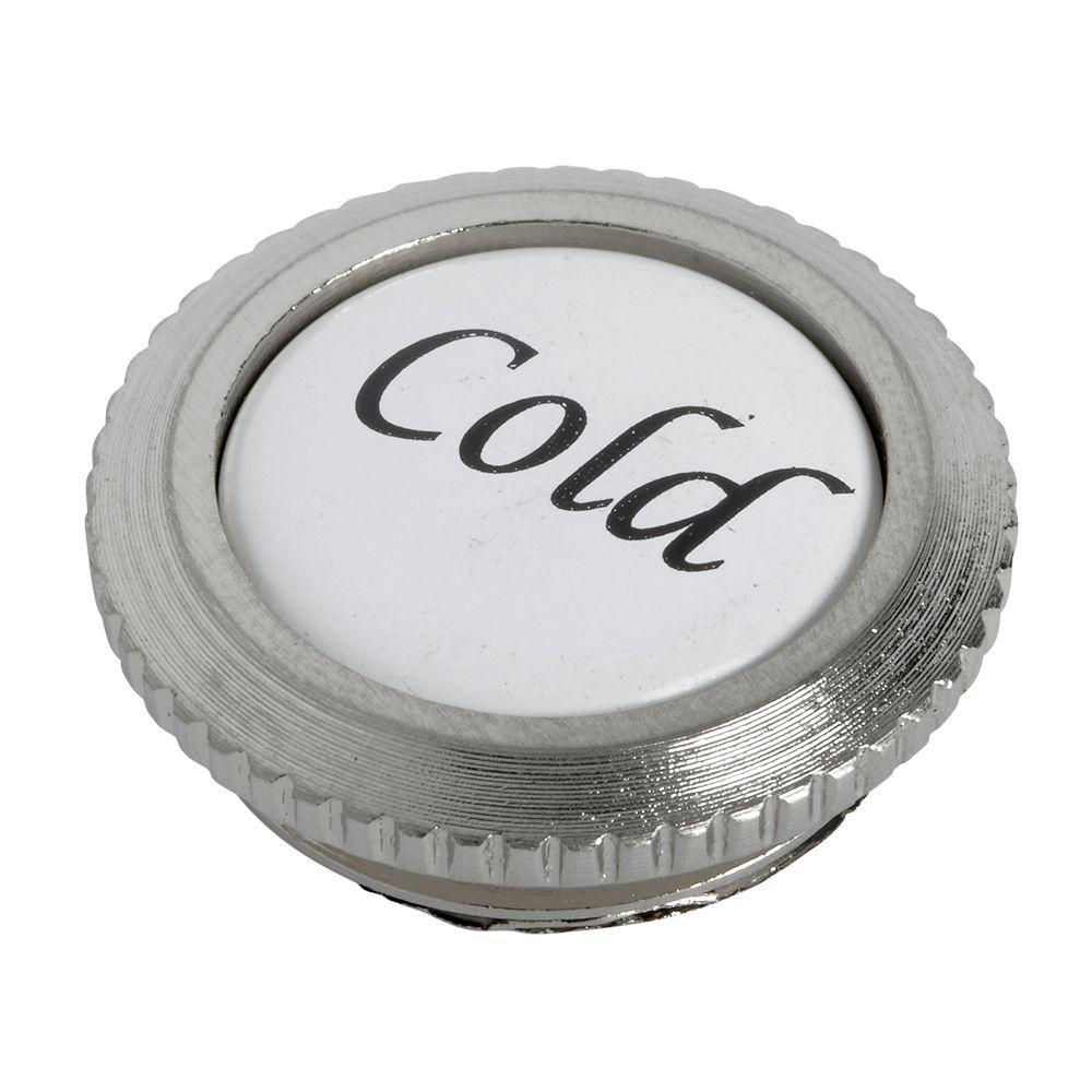 Culinaire Index Button - Cold, Satin Nickel