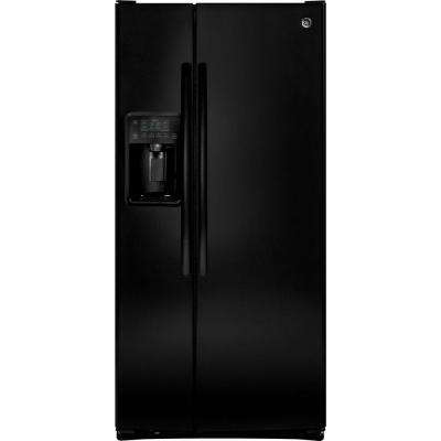 23.2 cu. ft. Side by Side Refrigerator in Black