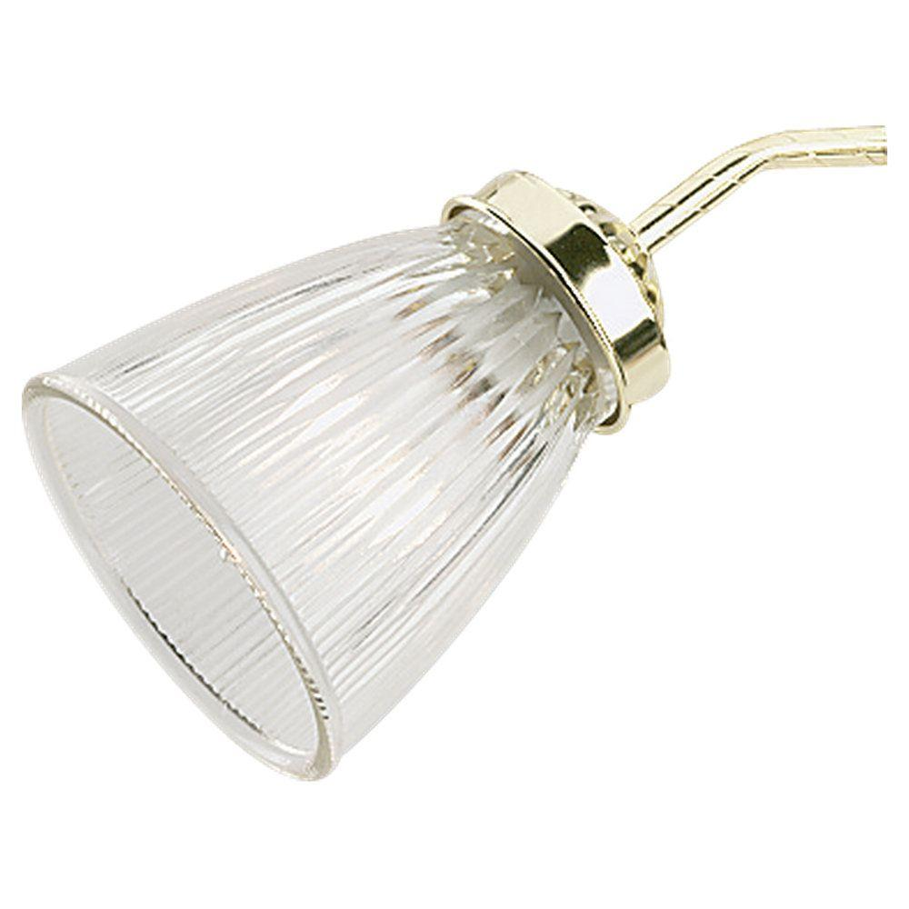Sea Gull Lighting Ceiling Fan Glass Collection Clear Ribbed Shade