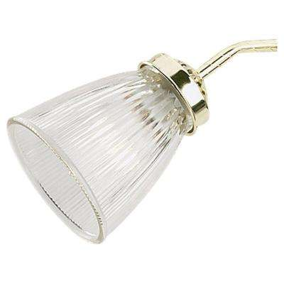 Ceiling Fan Glass Collection Clear Ribbed Glass Shade