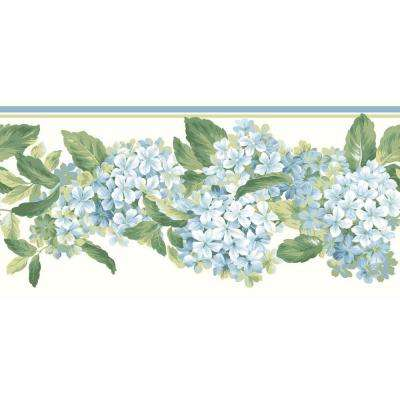 Inspired By Color Hydrangea Wallpaper Border