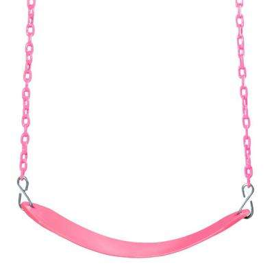 Cotton Candy Colored Deluxe Swing Belt and Chain