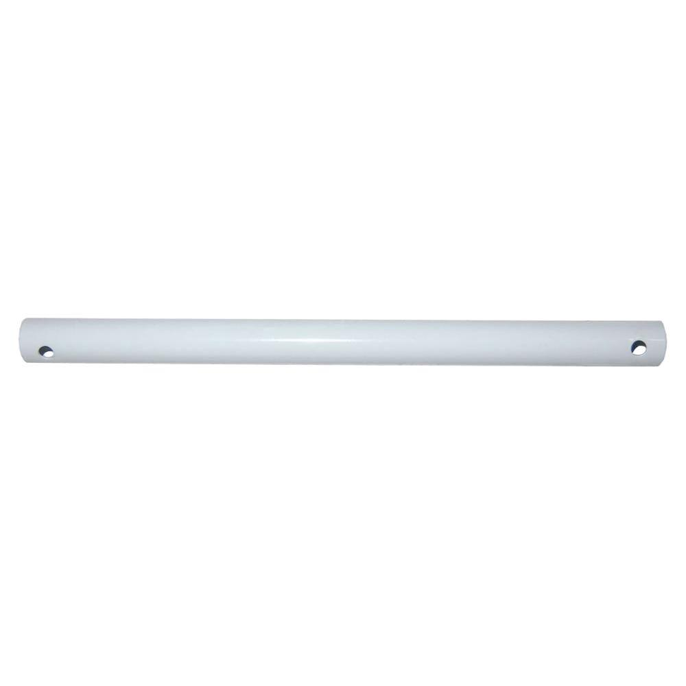 36 in. White Extension Downrod