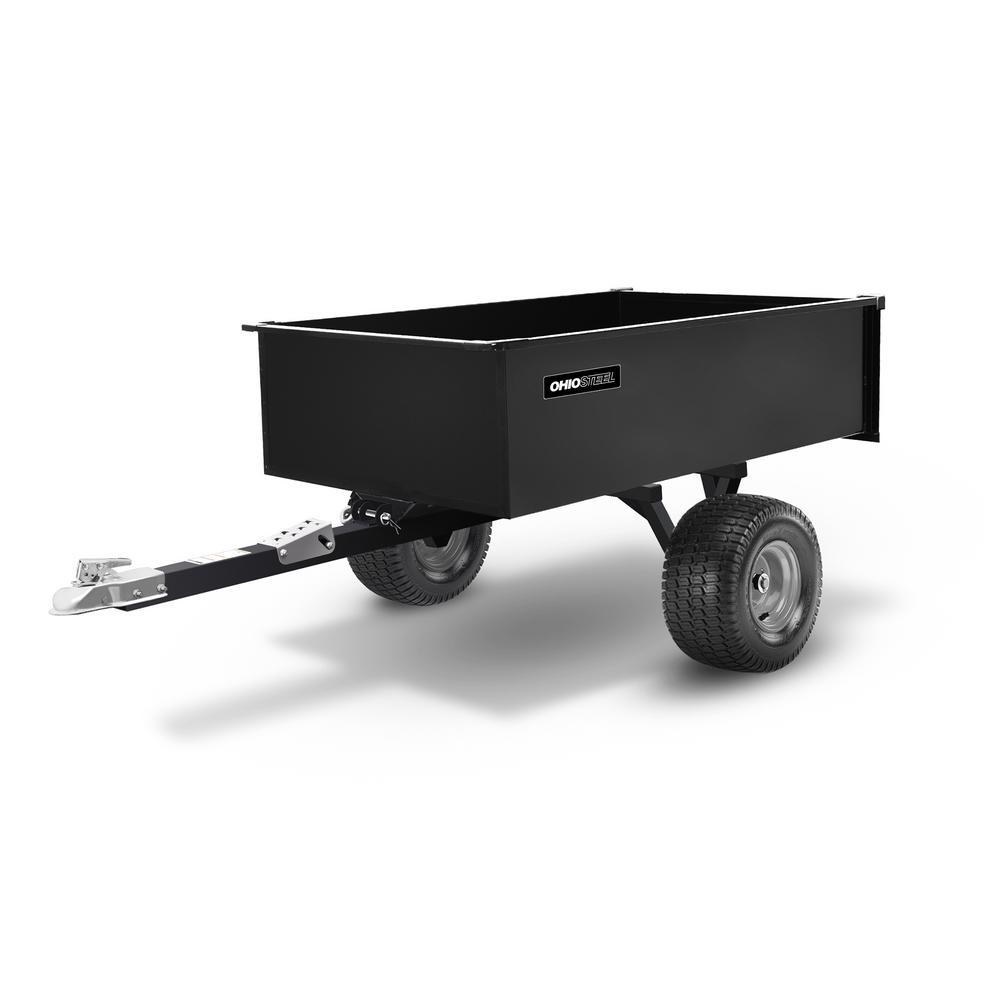 20 cu. ft. 1500 lbs. Capacity Steel Swivel ATV Cart