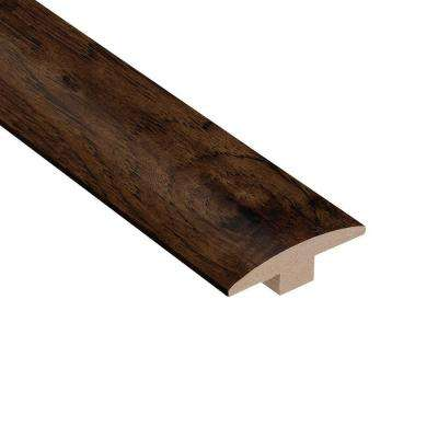 Distressed Alvarado Hickory 3/8 in. Thick x 2 in. Wide x 78 in. Length Hardwood T-Molding
